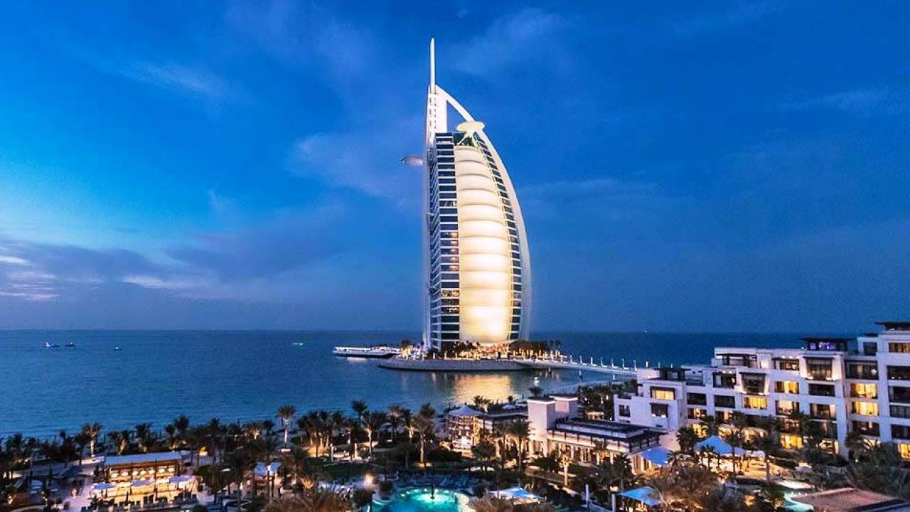 Crédit photo Burj Al Arab @Jumeirah_hotels