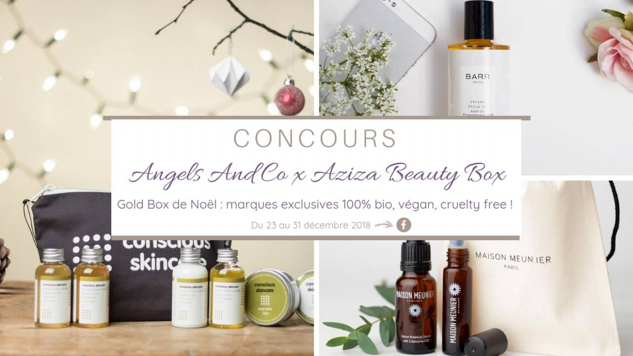 Concours du Blog Angels And Co x Aziza Beauty Box