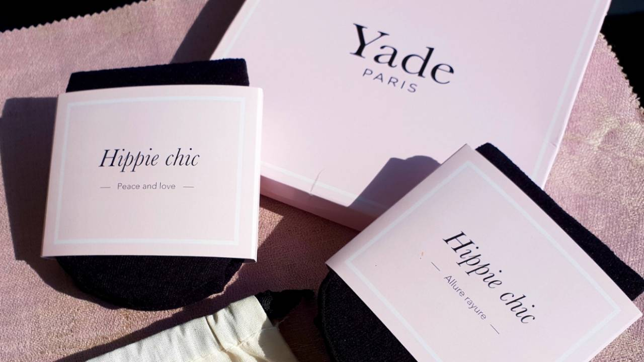 Yade Paris, la jolie marque française de collants qui sublime nos gambettes @Photo Angels And Co