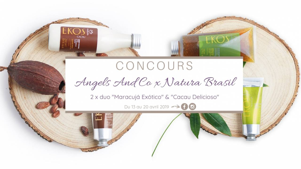 Concours Angels And Co et Natura Brasil - Crédit photo Natura Brasil