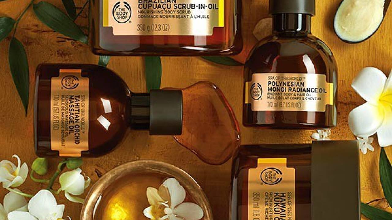 Crédit photo Instagram @thebodyshop