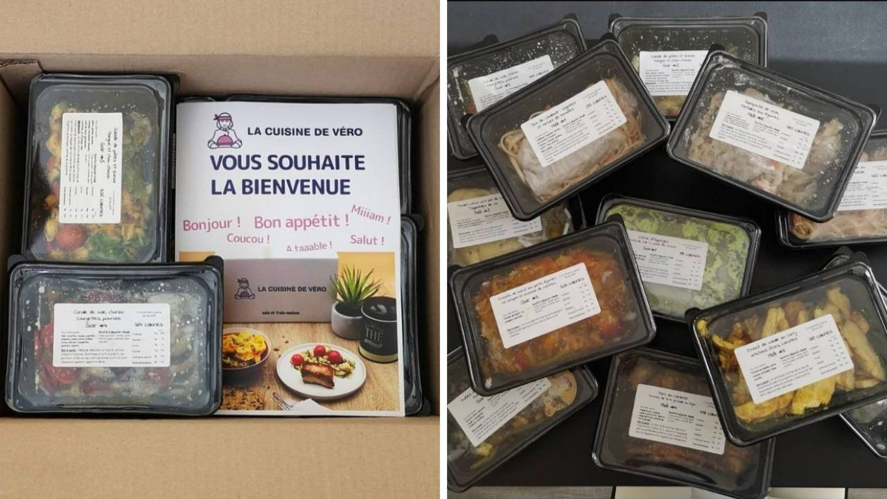 Réception de la Box La Cuisine de Véro par Chronofresh